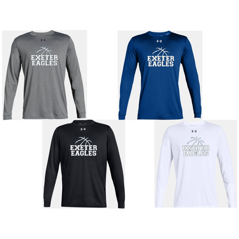 Exeter Basketball - Under Armour Long Sleeve Locker Tee