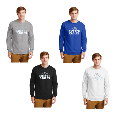 Exeter Basketball - Long Sleeve Tee