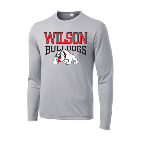 Green Valley Elementary School - Long Sleeve Wicking Tee