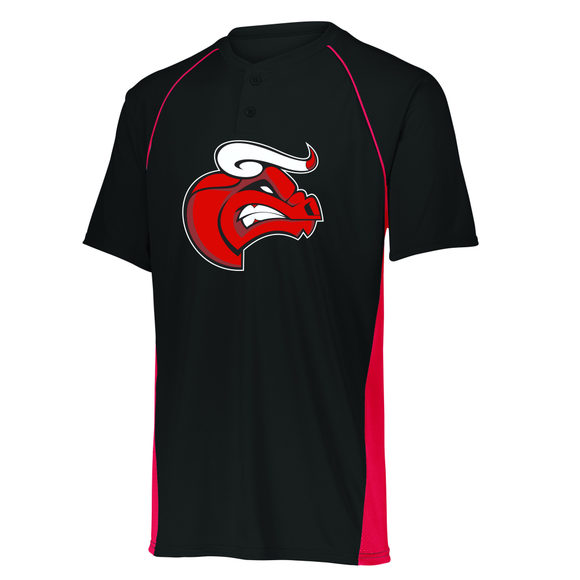 Berks County Bulls - Limit Jersey with Mascot design
