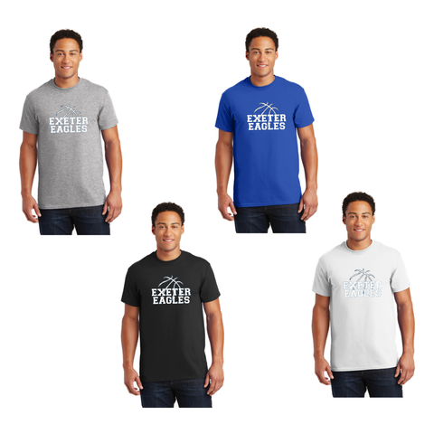 Exeter Basketball - Short Sleeve Tee