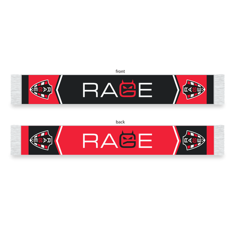 Rage SC - Custom Knit Scarf