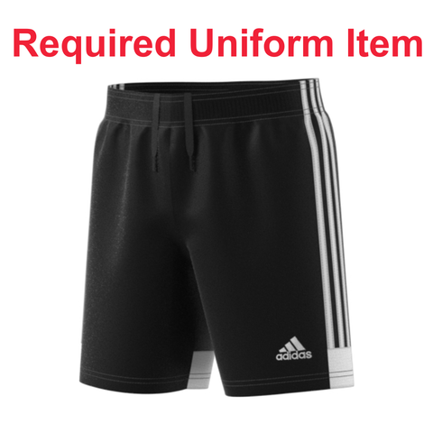 Rage SC - Adidas Tastigo 19 Black Shorts - Required Uniform Item