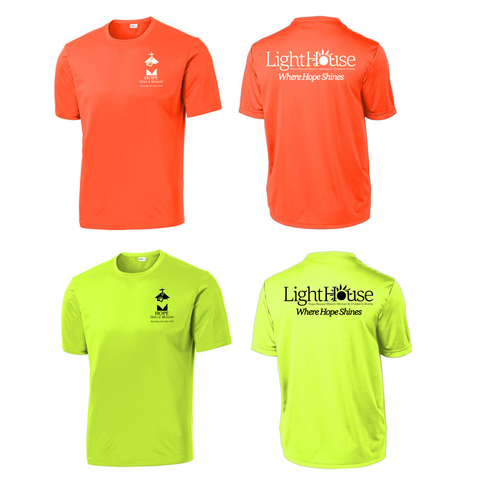 HOPE RESCUE - SHORT SLEEVE TECH SHIRT