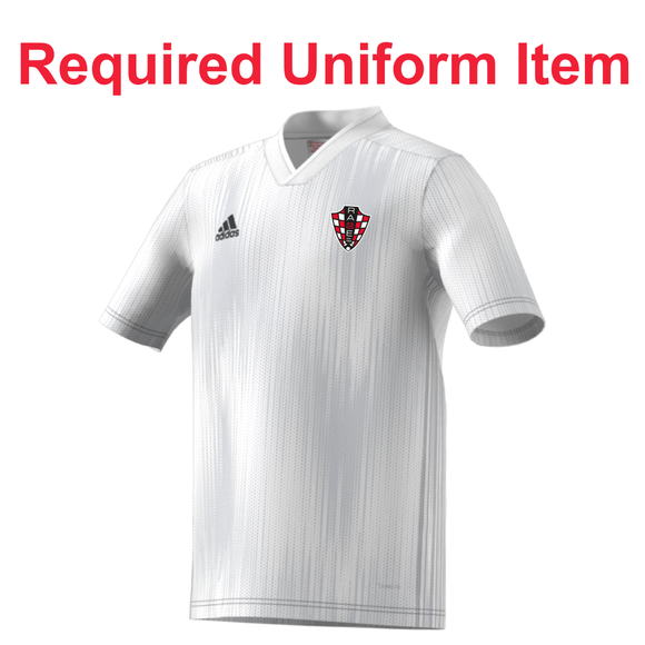 Rage SC - Adidas Tiro 19 White Jersey - Required Uniform Item