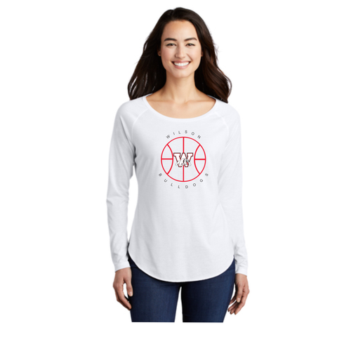 Wilson Girls Basketball - Women's Long Sleeve Tee