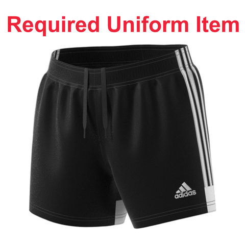 Rage SC - Adidas Women's Tastigo 19 Black Shorts - Required Uniform Item