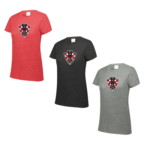 Rage SC - Women's Tri-Blend Short Sleeve Tee