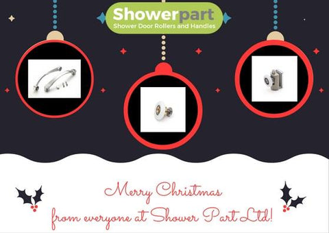 merry christmas from shower part