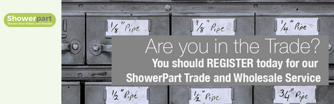 Register today for ShowerPart Trade and Wholesale Service