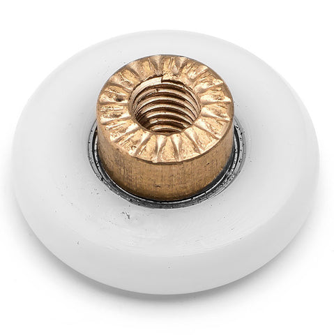 4 x Shower Door Rollers/Runners/Wheels 19mm, 23mm, 25mm or 27mm Wheel Diameter Replacement Parts A3