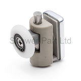 2 x Single Bottom Shower Rollers/Runners/Wheels 25mm Wheels Diameter A4