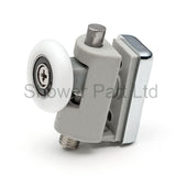 2 x Single Top Shower Rollers/Runners/Wheels 25mm Wheels Diameter A4