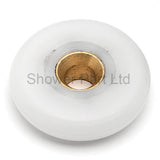 --4 x Shower Door Rollers 23mm or 25mm Wheel Diameter A8