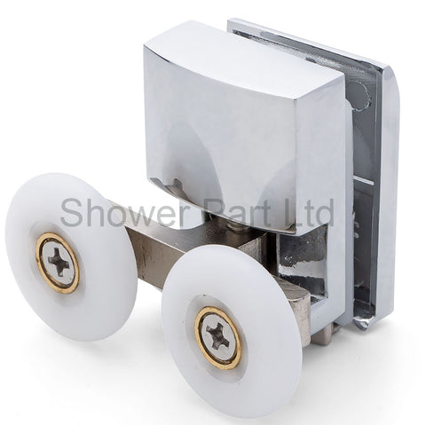 1 x Bottom Shower Door Roller/Runner 23mm Wheel Diameter APQ1