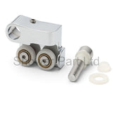 1 x Double Shower Door Rollers/Runners/Wheels 16.5mm Wheel Diameter AQ10