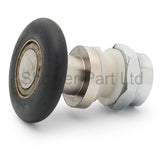 1 x Replacement Shower Door Roller/Runner /Wheel /Pulley 28mm Wheel Diameter AQ3