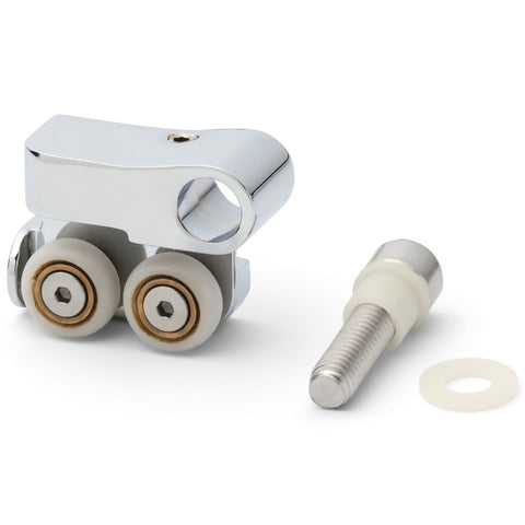 1 x Double Shower Door Rollers/Runners/Wheels 16.5mm Wheel Diameter AQ6