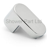 --DISCOUNTED 1 x Matki Hinge/ Clip/ Spares Silver Bottom AT1