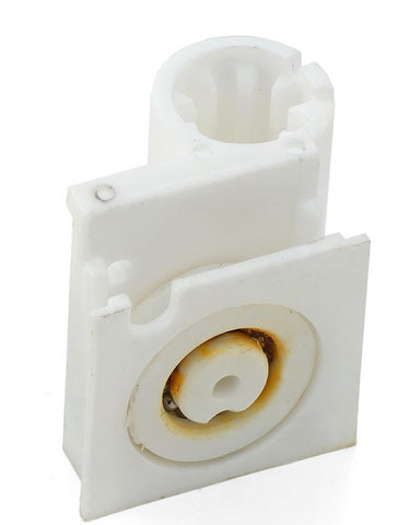 --DISCOUNTED 1 x Bifold Door Wheel Block Shower Rollers/Runner Grooved 20mm Wheel Diameter B2