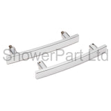 --Shower Bath Door Handle/Knob Chome BA04
