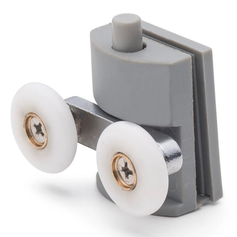 --DISCOUNTED 1 x Bottom Shower Door Rollers/Runners 26mm Wheel Diameter BE-M04