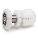 --2 x Shower Door Rollers/Runners/ Wheels 26mm in diameter Straight Pole BE-M06A