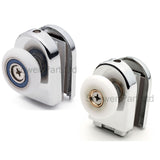 --Set of 2 Single Shower Rollers /Runners / Wheels Replacement Top & Bottom 23mm or 26mm Wheel Diameter BE-M08