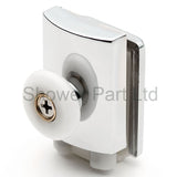--Set of 2 Single Shower Door Rollers/Runners/Wheels Top and Bottom 23mm Wheel Diameter BE-M14