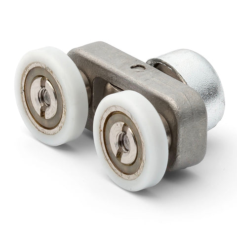 1 x Twin Shower Door Roller /Runners/Rollers 18mm Wheels Diameter E7