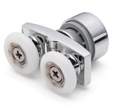 1 x Twin Top Roller/ Runner For Sliding Shower Doors 23mm Wheel Diameter HD