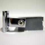 --DISCOUNTED 1 x Left Hand Chrome Infold Shower Door Bracket IS6A