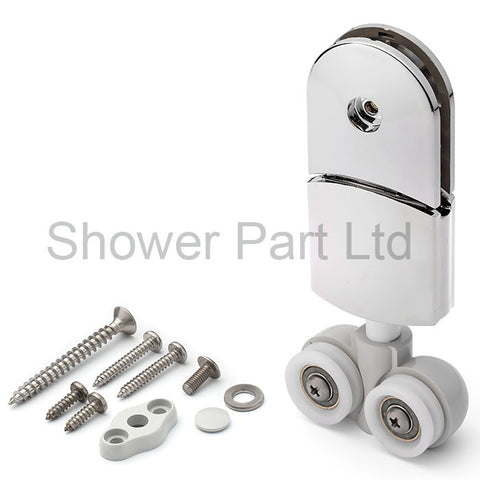 1 x Hanger Type Top Shower Door Roller/ Rollers/ Grooved Wheels /Spare Parts J047