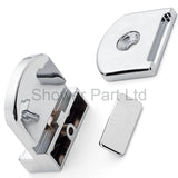 1 x Shower Door Clamp Hanger Type Unit/Wheels /Guides/Runners J058 clamp
