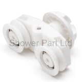 1 x Shower Door Roller/Runner/ Rollers/Wheels 19.3mm Wheel Diameter Spare parts J059