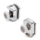 Set of 8 Top and Bottom Single Shower Rollers/Runners/Wheels Replacements 23mm or 25mm Wheel Diameter K004