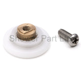 4 x Shower Door Rollers/Runners/Wheels Replacements 20mm, 23mm, 25mm, 26mm, 27mm Wheel Diameter K008