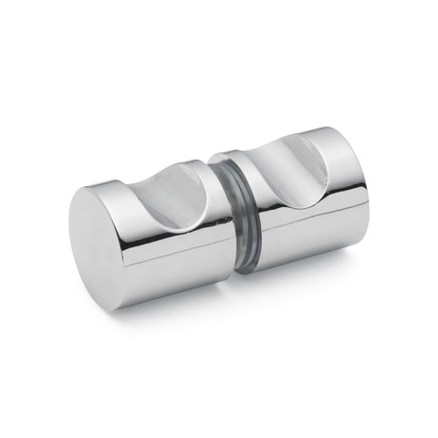 Shower Door Handle/Knob Chrome Zinc Alloy K009
