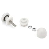4 x Replacement Shower Door Rollers/Runners/ Wheels 20mm, 23mm or 25mm Wheel Diameter K014