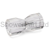 Shower Door Handle/Knob Crystal Clear Acrylic High Quality K033