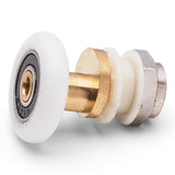 4 x Shower Door Rollers/Runners/Wheels Wheel Diameter 19mm, 23mm, 25mm or 27mm K041