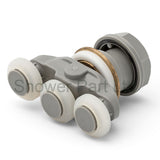 1 x Shower Door Roller/ Runners/ 19mm wheels diameter Triple wheels KH3