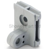 1 x Component/Clamp/ Plate/Block for Top or Bottom Mira Shower Door KH5