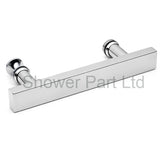 Shower Bath Door Handle Stainless Steel Chromed L-2
