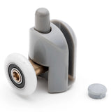 Set of 2 Single Shower Door Rollers/Runners/ Wheels/Pulleys 23mm or 25mm Wheel Diameter L001