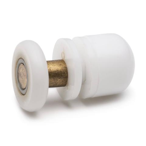 4 x Replacement Shower Rollers/Runners/Pulleys 20mm, 23mm, 25mm and 27mm Wheel Diameter L005