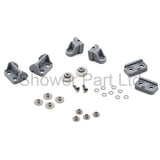 Set of Shower Door Rollers/Runners/Wheels 19mm Wheel Diameter Replacement Parts L017-1