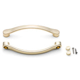 Shower/Bath Door Handle Chrome or Gold Effect L045