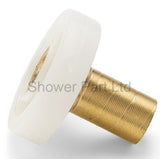 4 x Shower Door Rollers/Runners/ Spares/Guides/ Wheel Diameter 21mm L049-1