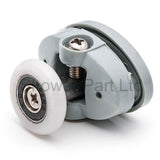 Set of 8 Single Shower Door Rollers /Runners /Wheels 23mm or 25mm Wheel Diameter L051